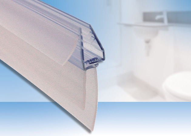 Uniblade Shower Seal Fits Any Glass Shower Screen
